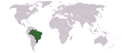 Location of Brasil