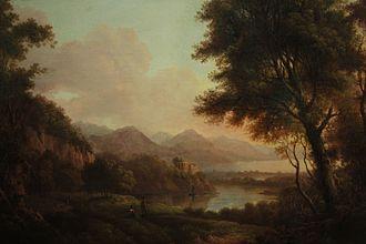 Loch Katrine - Loch Katrine by Alexander Nasmyth, 1810
