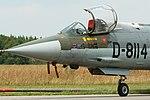 Lockheed F-104G Starfighter D-8114 (9179548698).jpg