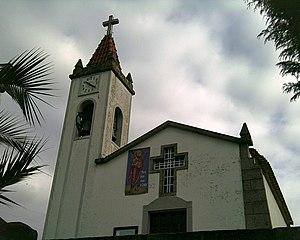 Baião, Portugal - Image: Loivos da ribeira, baiao, igreja paroquial fachada