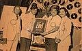 Lokanadham nandikeswara rao received niharika award from S.P.Balasubrahmanyam.jpg