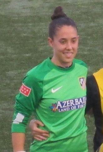 Dolores Gallardo - With Atlético Madrid in 2013
