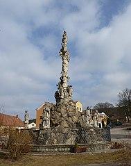 Maria column (Lomnice)