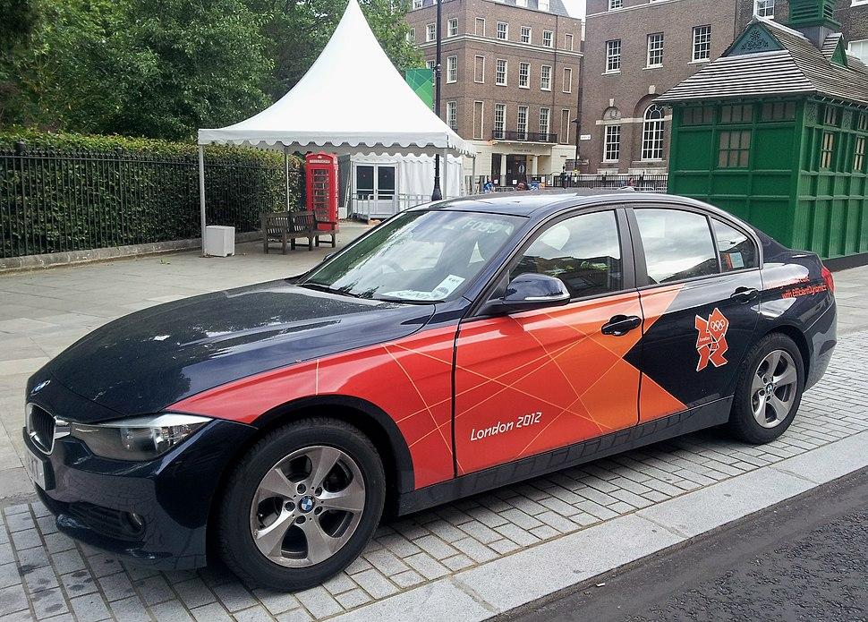 London 2012 Olympic BMW