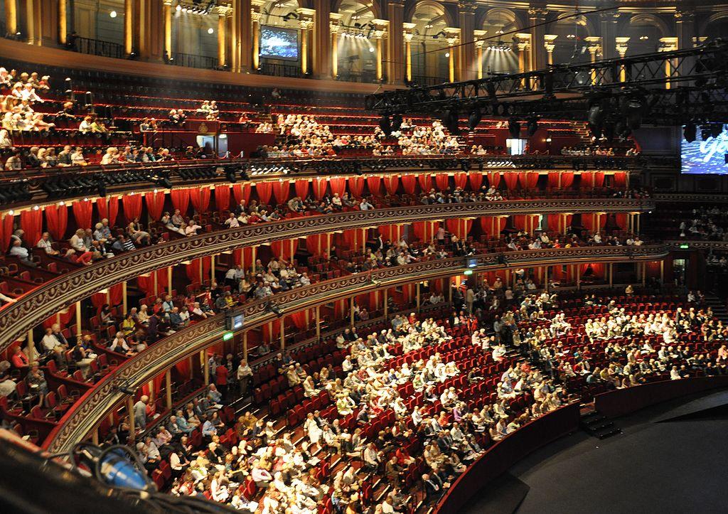 File london royal albert hall interior wikimedia for Door 6 royal albert hall