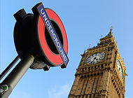 London Underground and Big Ben MOD 45157216.jpg