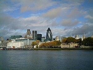 Français : Un panorama de Londres.
