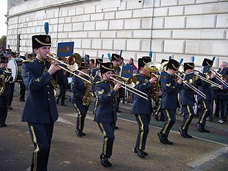 Royal Air Force Music Services - Image: Lord Mayor show 2007 (2082969335)