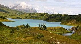 Lost Lake nella foresta nazionale di Chugach