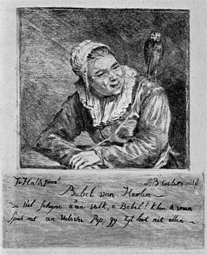 Louis Bernard Coclers - Image: Louis Bernhard Coclers Stich nach Malle Babbe