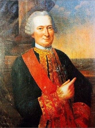 Louis Guillouet, comte d'Orvilliers - Louis Guillouet, comte d'Orvilliers.