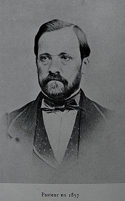 Louis Pasteur (1857)