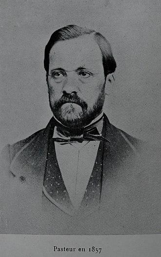 Louis Pasteur - Pasteur in 1857
