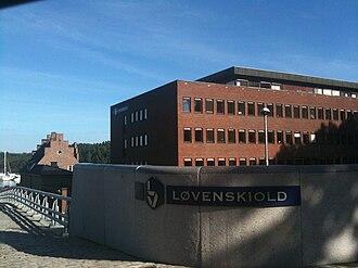 Løvenskiold (noble family) - Løvenskiold-Vækerø headquarters in Oslo