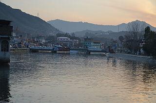 Batkhela City in Khyber Pakhtunkhwa, Pakistan