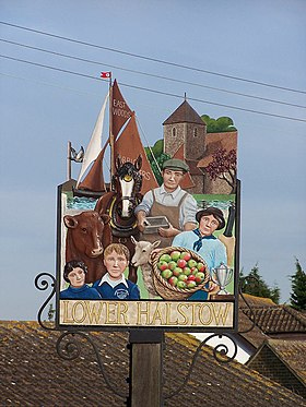 Lower Halstow village sign - geograph.org.uk - 669246.jpg