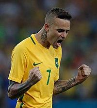 Luan Vieira na conquista brasileira do primeiro ouro olímpico no futebol 1039243-20082016- mg 3322.jpg