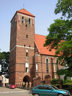Gothic church St. Anna in Lubawa (1330)