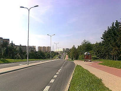 How to get to Węglin-południe with public transit - About the place
