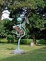 Lubo Kristek,1992,Der Windharfenbaum,Metallplastik,460cm.jpg