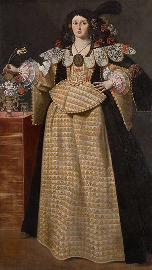 Luca Ferrari - Portrait of a Lady, 1630s