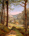 Luccombe Chine, Isle of Wight by Jasper Francis Cropsey, 1861, High Museum of Art.jpg