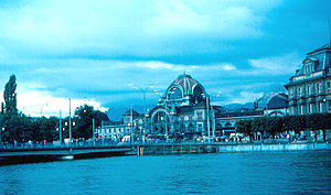 Lucerne railway station - Image: Lucerne Station (3250409751)
