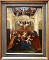 Ludovico mazzolino, sacra famiglia con san nicola da tolentino, 1515-30 ca.jpg
