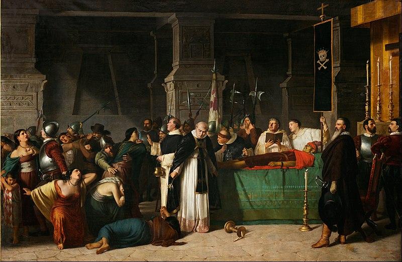 Luis Montero - The Funerals of Inca Atahualpa - Google Art Project.jpg