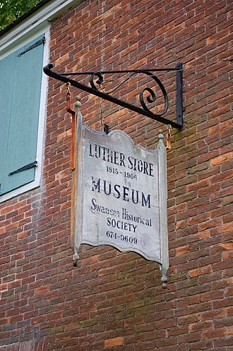 Luther Store - Image: Luther Store detail