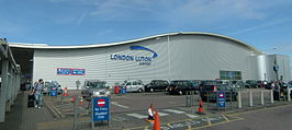 De terminal van London Luton