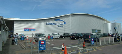 London Luton Airport - main entrance