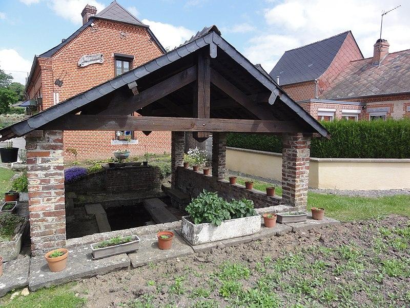 Luzoir (Aisne) lavoir
