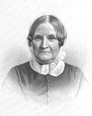 Lydia Maria Child - An 1882 engraving of Child.