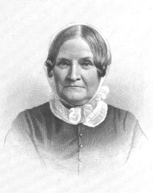 Lydia Maria Child engraving