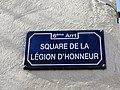 Lyon 6e - Square de la Légion d'Honneur - Plaque (fév 2019).jpg