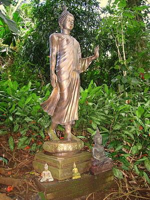 Lyon Arboretum - Buddha Statue