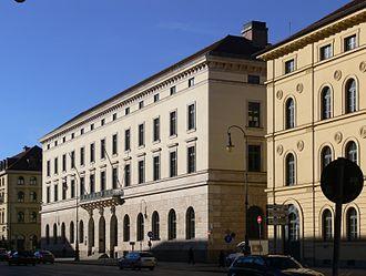 Duke in Bavaria - Image: München Ludwigstraße 13 Bundesbank