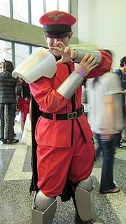 M. Bison cosplayer at FanimeCon 2010-05-30.JPG