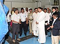 M. Venkaiah Naidu interacting with the scientists and faculty members, at the inauguration of the Facility for Research in Experimental Nuclear Astrophysics (FRENA) at the Saha Institute of Nuclear Physics, in Kolkata.JPG
