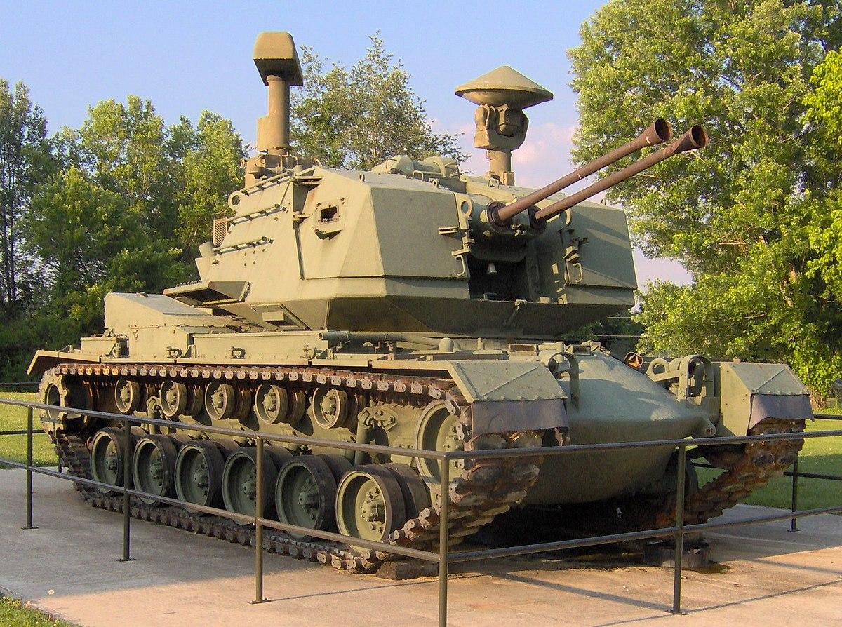 M247 Sergeant York - Wikipedia