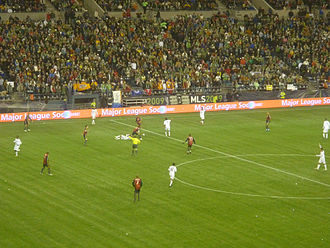 MLS Cup 2009 - A view of the match from the stands