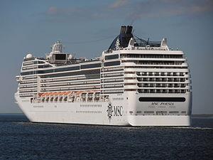 MSC Poesia leaving Port of Tallinn 9 May 2012.JPG