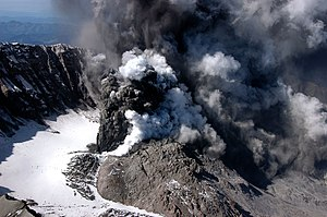 Volcanic gas - Eruption of Mount St. Helens