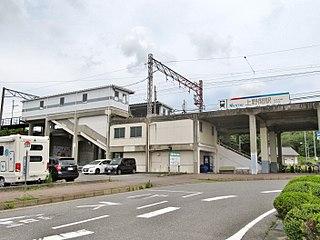 Kami Noma Station Railway station in Mihama, Aichi Prefecture, Japan