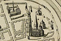 Maartenskerk(A) en Walburgskerk(B) (1568-1577) Groningen.jpg