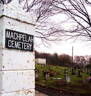 Machpelah Cemetery (North Bergen, New Jersey) cemetery in North Bergen, New Jersey
