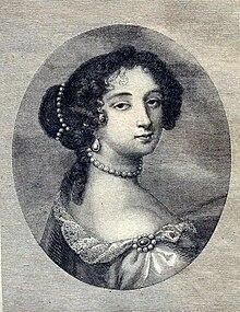 Tableau représentant le portrait d'une femme.