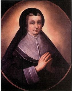 Founder of the Order of Ursulines of Quebec