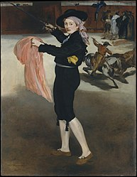 Édouard Manet: Mademoiselle V. . . in the Costume of an Espada